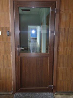 Дверь пластиковая 900*2100 (теплая) цветная
