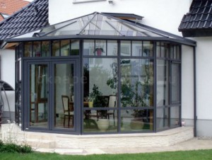 Зимний сад из алюминия 3000*4000