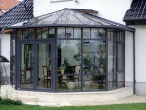 Зимний сад из алюминиевого профиля 3000*4000