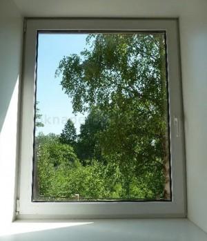 Окно пластиковое 1200х1200 (1 камерный стеклопакет)