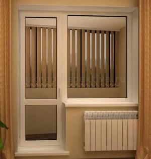 Балк.блок 1 створка 1600 x 2000 Teplowin Classic 400( Plafen 58) Белый [32мм 4[10TwAr]4[10TwAr]4И]