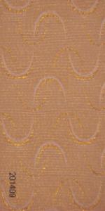 Жалюзи вертикальные тканевые - Роза (золото/серебро)
