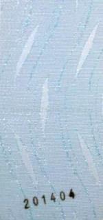 Жалюзи вертикальные тканевые - Линда (золото/серебро)